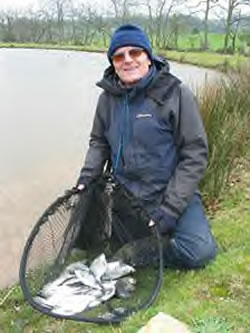 Fishing with Exeter & District Angling Association
