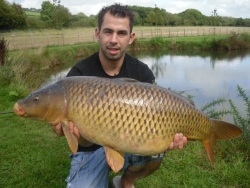 Coarse Fishing Breaks - 28lb Carp Riverside Caravan Park South Molton Devon