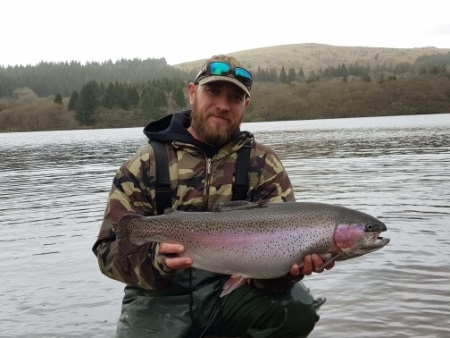 Burrator Rainbow Trout  13lb 6oz - South West Lakes Trust Fisheries