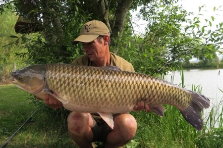 Lovely Carp Fishing Bearley Lake in Somerset