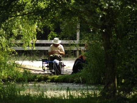 Coarse Fishing at Emerald Pool Fishery - Highbrigde Somerset