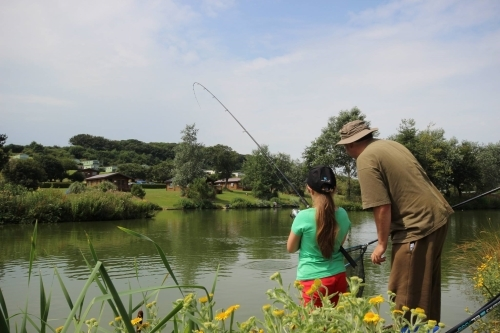 Coarse Fishing Holidays White Acres Newquay, Cornwall