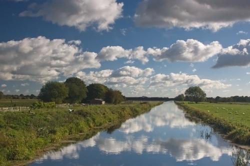 Fishing on River Huntspill - Somerset