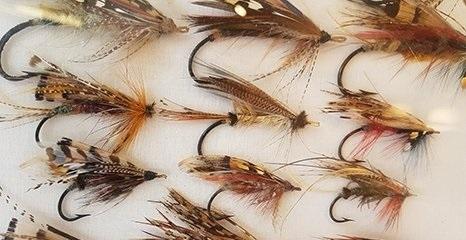 Fly Fishing Ties Lance Nicholson - Dulverton Somerset