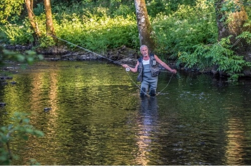 Fly Fishing at Park Mill Farm,Chulmleigh, Devon