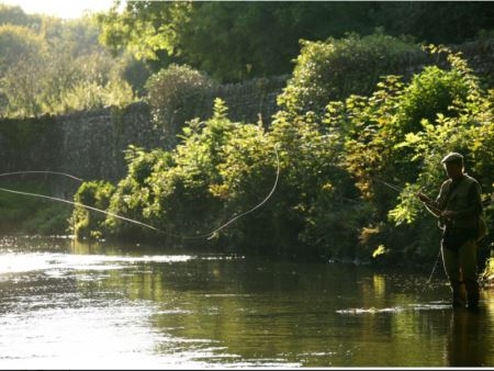 Fly Fishing at Arundell Arms - Lifton Devon
