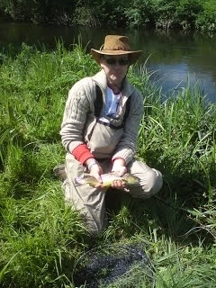Fly Fishing with Tony King