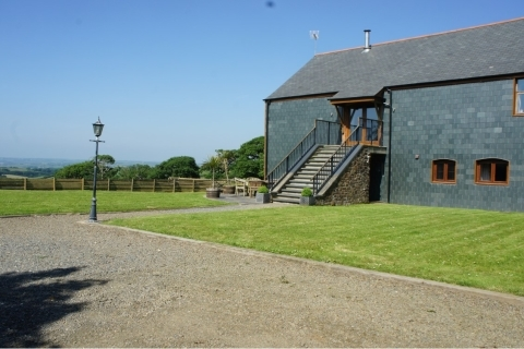 Stay in luxury at Hele Barton Holiday Cottages near Bude