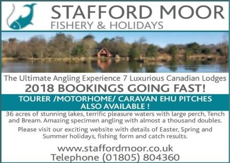 Stafford Moor Fishery - Dolton Devon