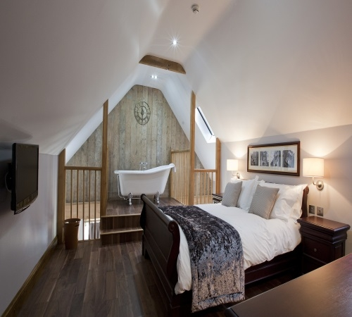 The New Inn Bedroom - Cerne Abbas Dorset