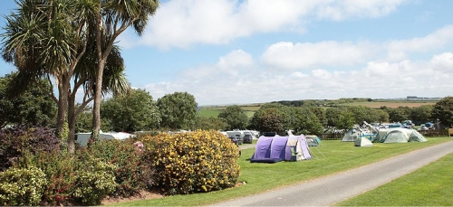 Touring, Camping At Trevella - Newquay, Cornwall