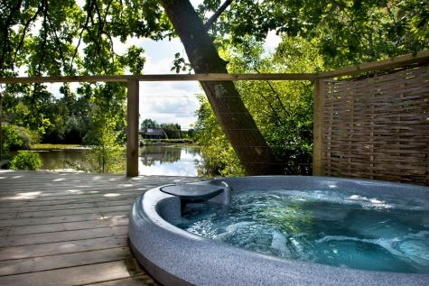 Fishing Cottages with Hot Tubs at Blue Chip Holidays