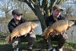 Great Carp from Digger Lakes Complex near Willand, Devon
