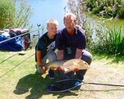 Coarse Fishing at Hazelwood Holiday Park,South Devon