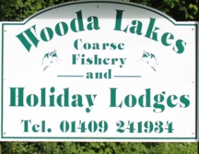 Wooda Lakes Logo Pancrasweek, Holsworthy, Devon