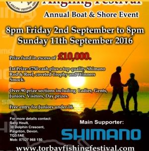 Torbay Sea Angling Festival