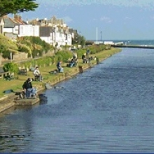 Fishing Bude Canal - Bude