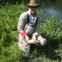 Fly Fishing with Tony King