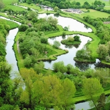 Flyfishing River and Lakes at Avon Springs Fishery Wiltshire