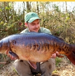 Carp caught at one of South West Lakes Trust Fisheries