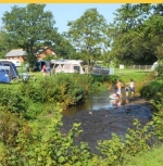 River Fishing & onsite Coarse Lakes Riverside Camping and Caravan Park - Devon