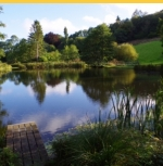 Amherst Lodge Trout Lake Fishery & River Fishing with Tuition Lyme Regis Dorset