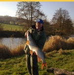 Record Pike from fishing lake- Sturminster and Hinton Angling Association Dorset
