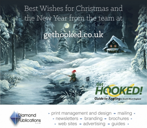 Seasons Greetings from Get Hooked Guide to Angling