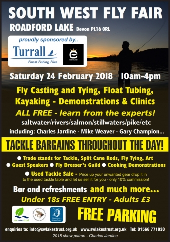 South West Lakes Fly Fair 2018